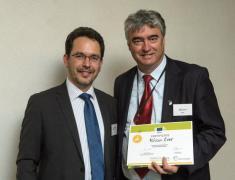 Dr. Zver in direktor organizacije Eurochambers Arnaldo Abruzzini