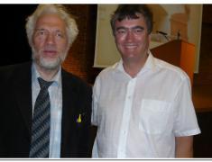 Dr. Zver z ruskim profesorjem Borisom Sokolovim