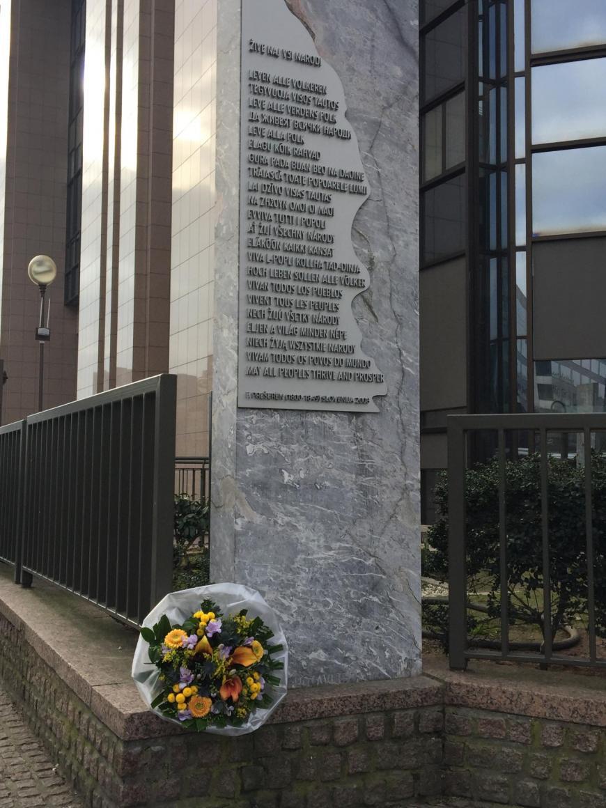 Spomenik v Bruslju