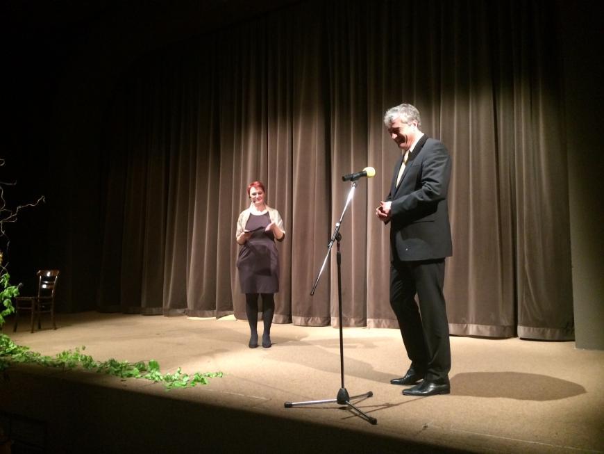 Dr. Milan Zver na 8. klekljarskih dnevih v Žireh