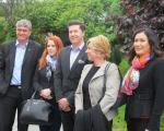 Kandidati SDS za Evropski parlament na obisku Prekmurja in Prlekije