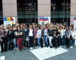 Mladi na obisku v Strasbourgu pri dr. Zveru