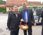 S slovenskimi dobrotami v Mirni na Dolenjskem