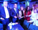 Delegacija Slovenske demokratske stranke na Kongresu EPP v Dublinu