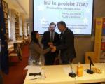 "Dr. Zver na okrogli mizi ŠKG ""EU le projekt ZDA?"""