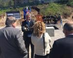 Polaganje temeljnega kamna za Park vojaške zgodovine v Pivki