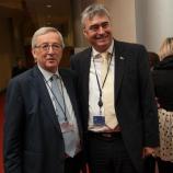 S kandidatom EPP za predsednika Evropske komisije Jean-Claude Junckerjem