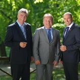 Dr. Milan Zver, mag. Andrej Šircelj in Janez Janša