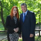 Carmen Merčnik in dr. Milan Zver