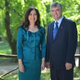 Patricija Šulin in dr. Milan Zver