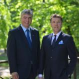 Dr. Milan Zver in Damijan Terpin