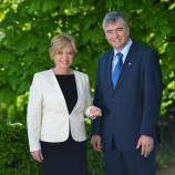 Romana Tomc in dr. Milan Zver