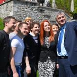 Selfie z mladimi