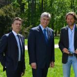 Damijan Terpin, dr. Milan Zver in Andrea Massi