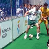Nogometna tekma pred Evropskim parlamentom