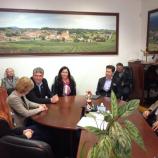 Župan Lenarta Janez Kramberger je sprejel kandidate SDS na volitvah v Evropski parlament