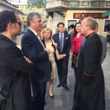 Srečanje s škofom Jamnikom