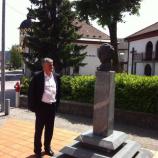 Dr. Milan Zver in dr. Andrej Gosar, največji slovenski sociolog v 20. stoletju v Logatcu