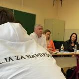Okrogla miza z mladimi v Mariboru