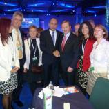 Delegacija Slovenske demokratske stranke z gostiteljem in irskim premierjem Endo Kennyem