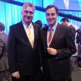 Dr. Zver z Davidom McAllisterjem, vodjo CDU liste kandidatov za evropski parlament