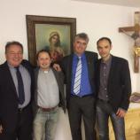 V Senovem je kandidate SDS sprejel župnik Janez Turinek