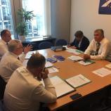 dr. Milan Zver se je srečal s članom Evropskega računskega sodišča, odgovrnim za Erasmus, Rimantasom Šadžiusom