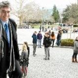 Dr. Milan Zver se je 26. marca 2010 srečal z dijaki tretjega letnika evropskega oddelka na Prvi gimnaziji Maribor